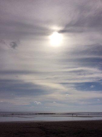 Playa Matapalo, كوستاريكا: Marea baja