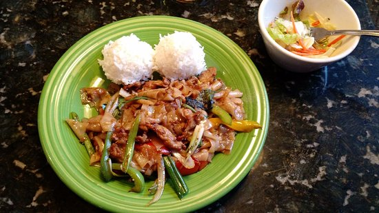 Albany, OR: Spicy Drunken Noodles - Our favorite
