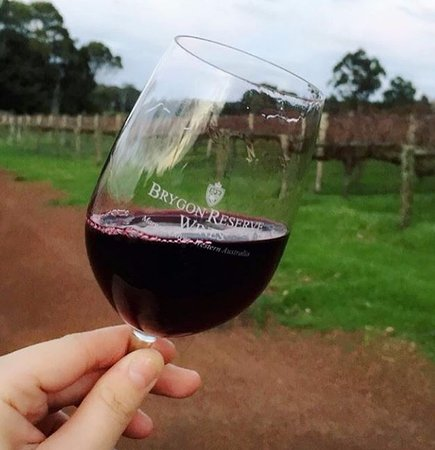 Wilyabrup, Australia: enjoying a nice shiraz