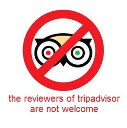 Fabio's: the reviewer of tripadvisor are not welcome