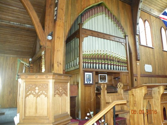 Trinity, Canadá: Now this is a Pipe Organ!
