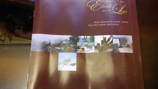 Hotel & Spa Etoile-sur-le-Lac: Hotel Brochure