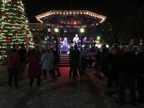 Lady Lake, Φλόριντα: town Square