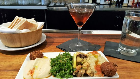 Albany, Californie : Happy Hour Meza Platter