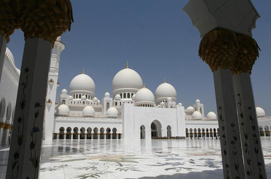 Abu Dhabi Sheikh Zayed Mosque and Falcon Hospital Day Tour