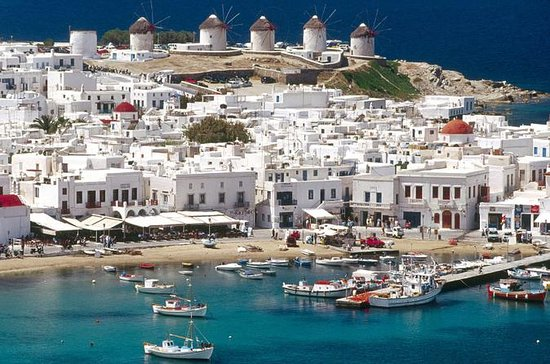 Santorini, Mykonos, and Syros 5-Day...