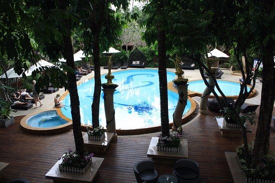Aonang Princeville Resort: Piha-alue oli oikein kiva ja siisti!