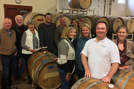Wine Tour of Willamette Valley with a...