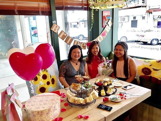 bridal shower held at beanery