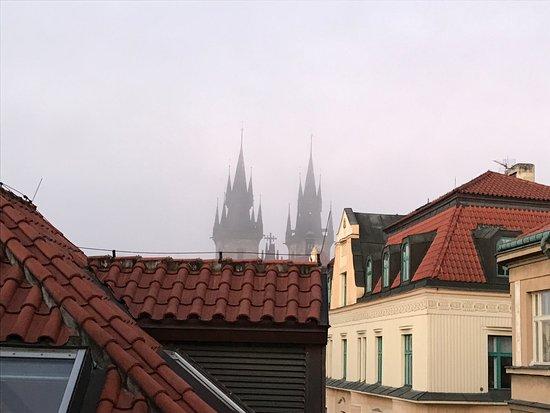 Barcelo Old Town Praha: 部屋専用テラスからの眺め