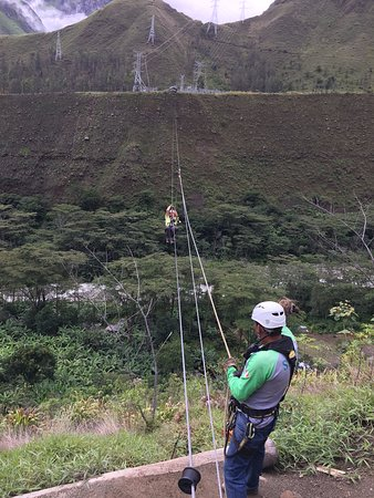 Santa Teresa, Peru: 5th Zip Line (I think)