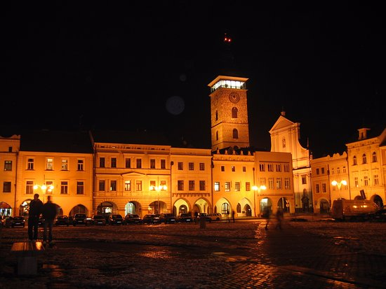 Ceske Budejovice, Repubblica Ceca: 歐特卡爾2世廣場namesti Premysla Otakara II