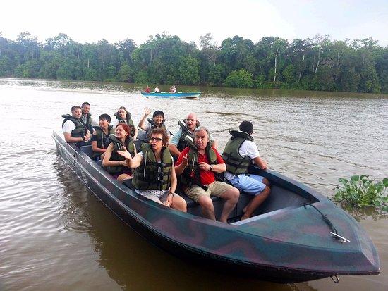 Kinabatangan District, Malasia: United Nations Secretary General Antonio Guterres stayed at Sukau in 2015