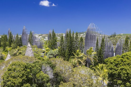 Nouvelle-Calédonie : Tjibaou Cultural Center in New Caledonia