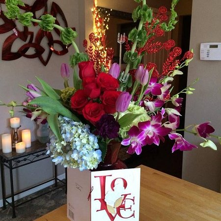 Rockwall, TX: Valentines Event Flowers
