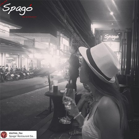 Spago' : aperitif time...