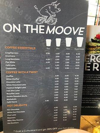 Best Cafe Menu Dunedin