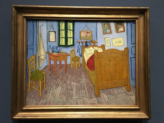 La nuit etoilee vincent van gogh picture of musee d for Chambre a arles