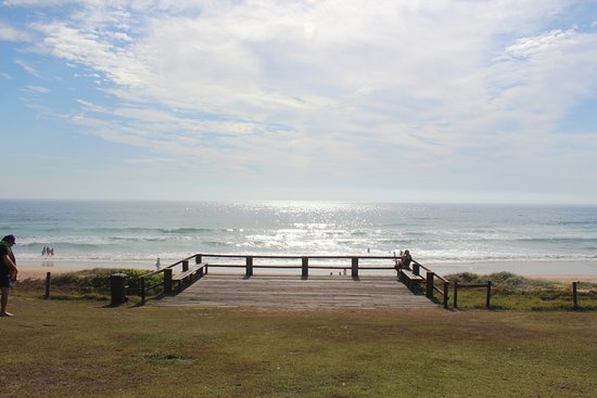 Sawtell, Australia: This is the uninterupted water view