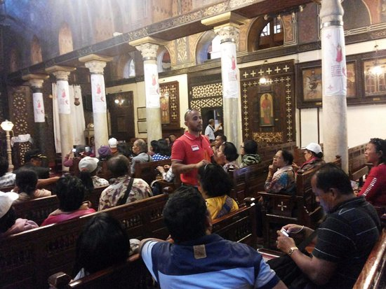 Sinaï Sud, Égypte : in church