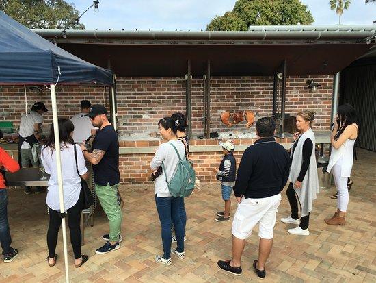 Ewingsdale, أستراليا: BBQ