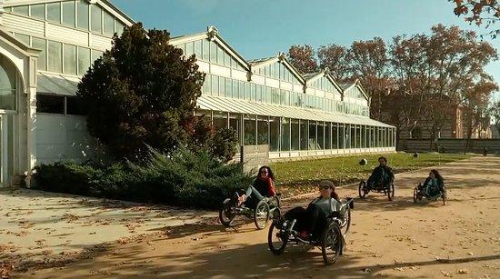 Community of Madrid, Spain: Passing along the Glass Palace, or Palacio de Cristal de la Arganzuela