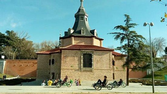 Community of Madrid, Spain: Passing along the picturesque Virgen del Puerto shrine