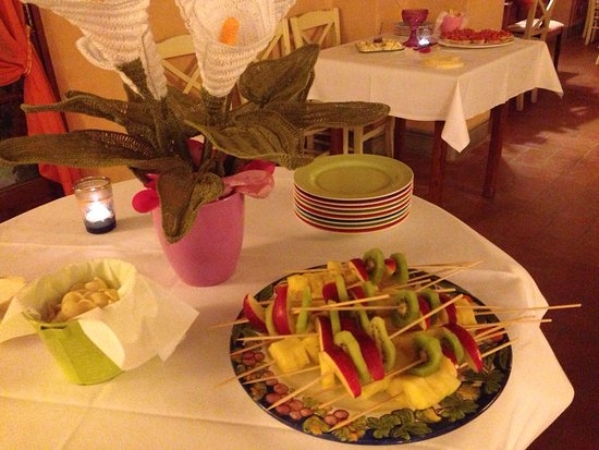Roccastrada, Italy: Colazioni e piatti ristorante