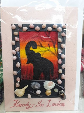Hand Painted Greeting Card Picture Of Prestige Selections Batiks