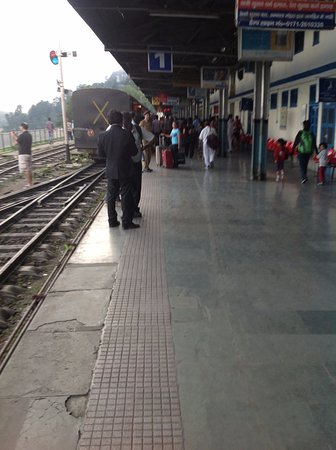 ticket checker strolling around - Picture of Kalka - Shimla