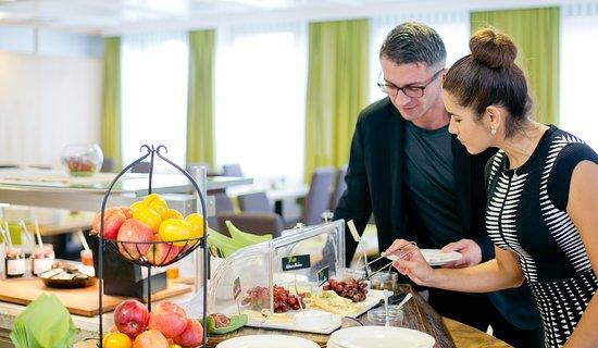 Hotel Heffterhof: Frühstücksbuffet