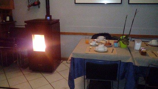 Antica cucina con camino - Picture of Hotel Letizia, Orte - TripAdvisor