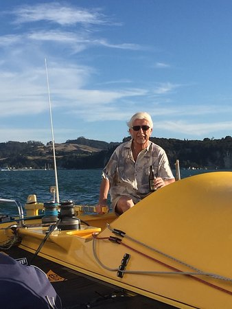 Whitianga, Nueva Zelanda: Fantastic evening cruise with a great boat, great Skipper ( and crew ) fun for all ages! Thank y