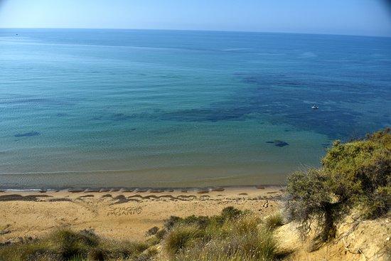 Repubblica delle Pergole: La spiaggia vista dalla stanza
