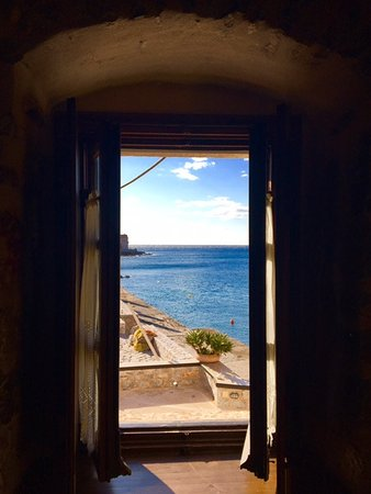Gerolimenas, Yunani: view from the room