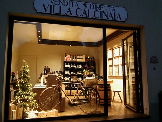 Villa Calcinaia Wine Shop