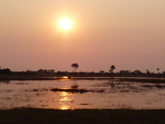 Maun, บอตสวานา: sunrise