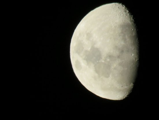Citrusdal, South Africa: Searching for the man in the moon!