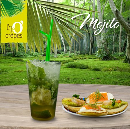 L'Ile O' Crêpes : Mojito avec ou sans alcool.