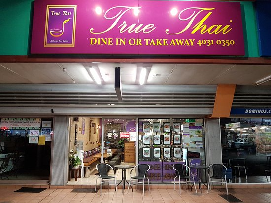 Small Thai restaurant but big on flavour - Picture of True Thai ...