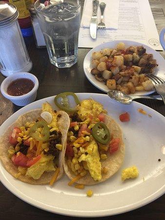 Zionsville, IN: Chorizo breakfast tacos