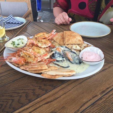 Midrand, Afrique du Sud : Seafood meza
