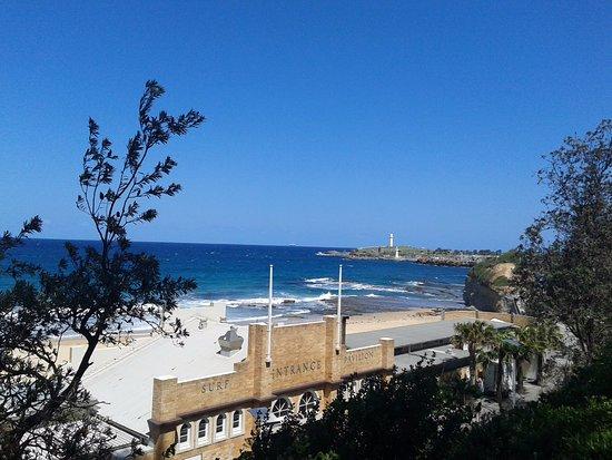 Wollongong, Australia: O farol, visto pelo norte