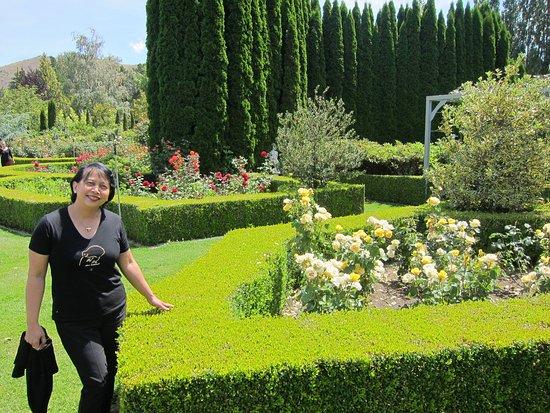 Cromwell, Νέα Ζηλανδία: The well-tended garden