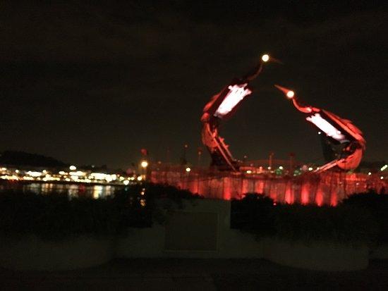 Crane Dance at Resort World Sentosa: photo6.jpg