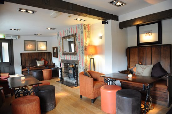 The Stag at Offchurch: Bar area