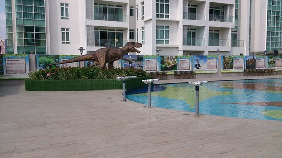 Or Maybe You Can Try Shooting Dinosaurs With The Many Water Guns Available