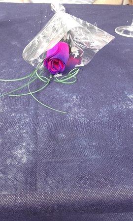 Santiago de la Ribera, Espagne : A complimentaty flower
