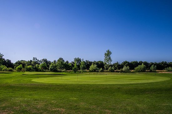Bettolle, Italien: PUTTING GREEN