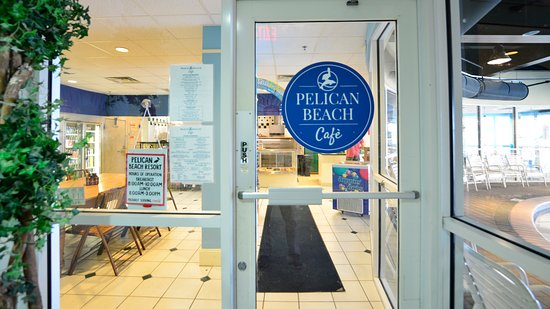 Resorts of Pelican Beach: Pelican Beach Cafè - located in the Conference Center lobby